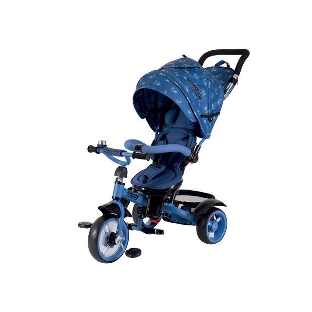Kikka Boo Tricycle évolutif pour bébé/enfant Alonsy Bleu