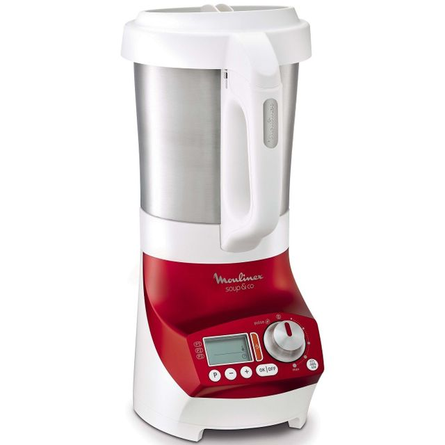MOULINEX - Blender chauffant SOUP & CO LM906110