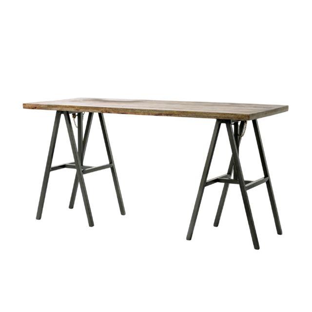 HELLIN TABLE DE SALLE A MANGER RÉGLABLE- TRETAU