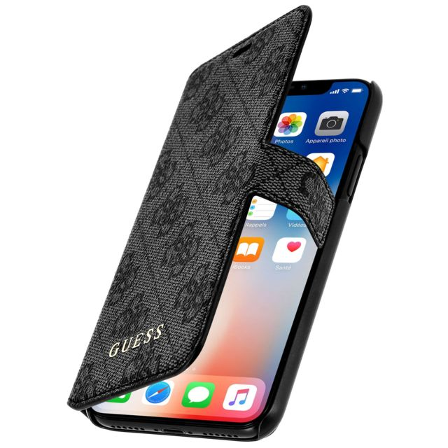 coque iphone xr clapet cuir