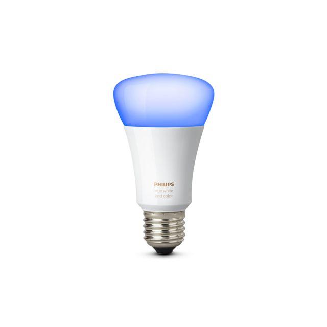 philips hue white colors ampoule e27 pas cher achat vente lampe et ampoule connect e. Black Bedroom Furniture Sets. Home Design Ideas