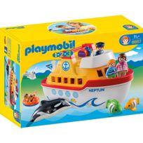 PLAYMOBIL - Navire transportable - 6957