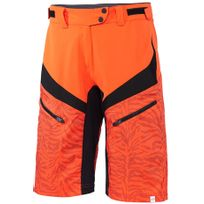 Protective - Icana - Cuissard court - orange/noir