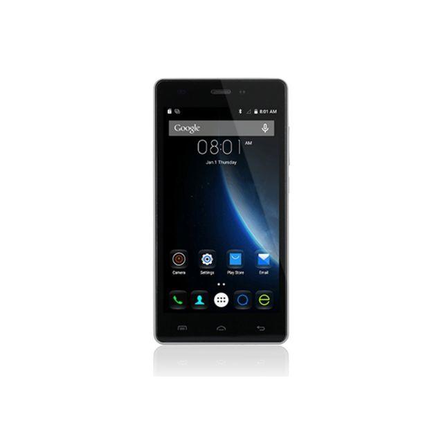 Auto-hightech Smartphone 5.0 pouces, Quad Core, Android 5.1, 4G - Blanc