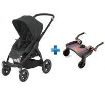 Bébé Confort - Poussette tout terrain STELLA - Nomad Black + Planche à roulette BuggyBoard Maxi