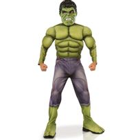 MARVEL - AVENGERS - Déguisement luxe Hulk - Taille 5-6 ans - I-610429M