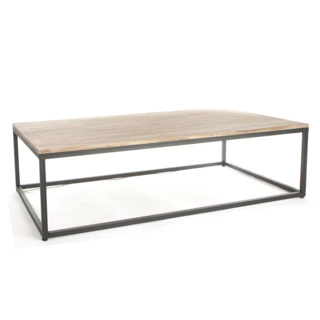 atmosphera table basse edena pas cher achat vente meubles tv hi fi rueducommerce. Black Bedroom Furniture Sets. Home Design Ideas