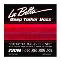 Labella - La Bella 750N Black Nylon Deep Talking Bass - Jeu de cordes - 50-105