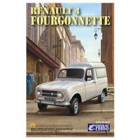 Ebbro - Maquette voiture : Renault 4 Fourgonnette