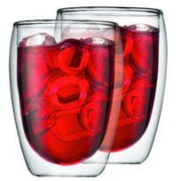 BODUM - Transparent - Verre borosilicate résistant à la chaleur - P 8,8cm, L 8,8cm, H 11,6cm