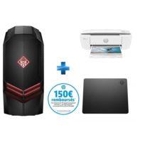 HP - Omen 880-108nf + Deskjet 3720 – Wi-Fi + Tapis de souris Omen 100 M