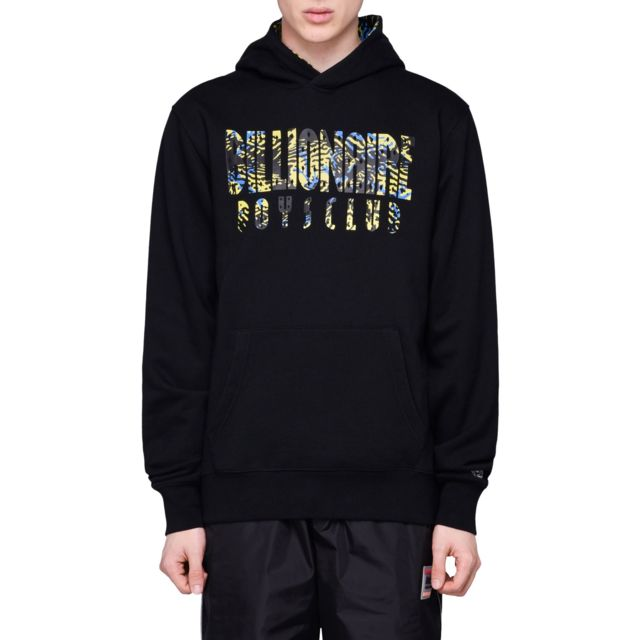 Billionaire Boys Club Homme B19224BLACK Noir Coton Sweatshirt