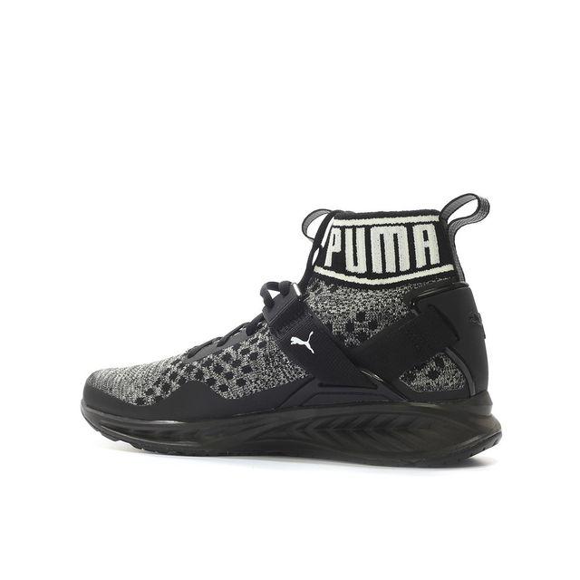 lowest price 0398d 18a68 Puma - Basket Ignite Evoknit - 189697-09 Noir - 40 - pas cher Achat   Vente  Baskets homme - RueDuCommerce