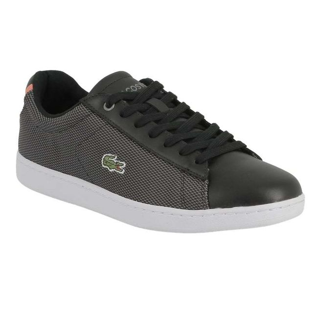 d49a3a530dc9c Lacoste - Lacoste Carnaby evo 117 1 spw black textile leather 7 33SPW1010024