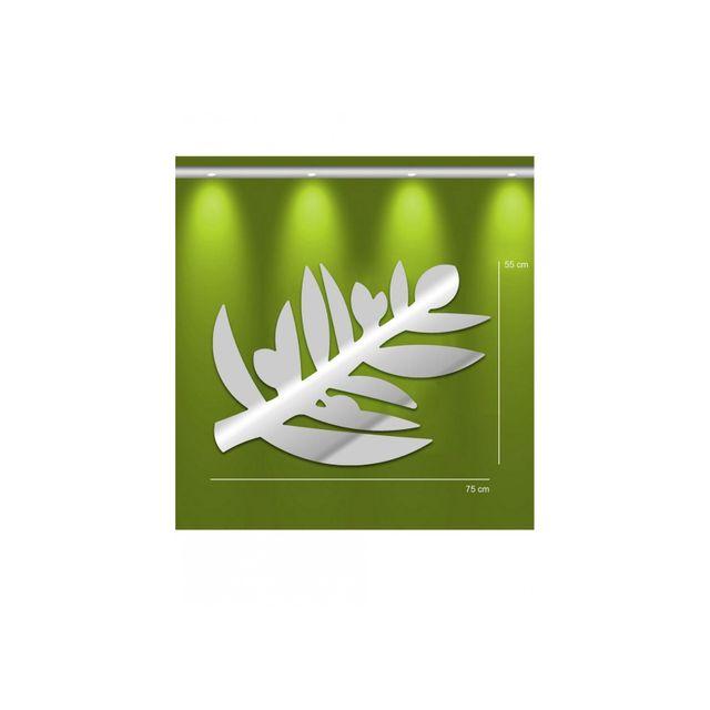 Tm Miroir rameau d'olivier - design deco