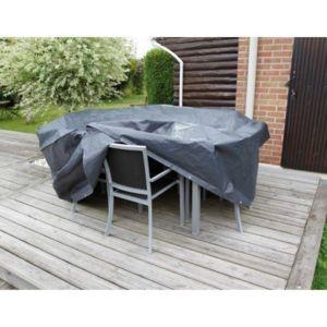 Ubbink - Housse de protection L 225 x l 143 x H 90 cm pour salon de ...