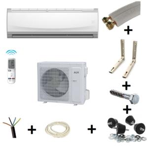 web clim 39 aire climatiseur r versible 3 5 kw aux gamme tactique avec kit de montage pas cher. Black Bedroom Furniture Sets. Home Design Ideas
