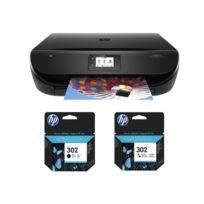 HP - Imprimante Envy 4525 + Cartouche Noire + Cartouche 3 couleurs