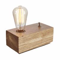 Kosilum - Lampe de chevet en bois - Texas