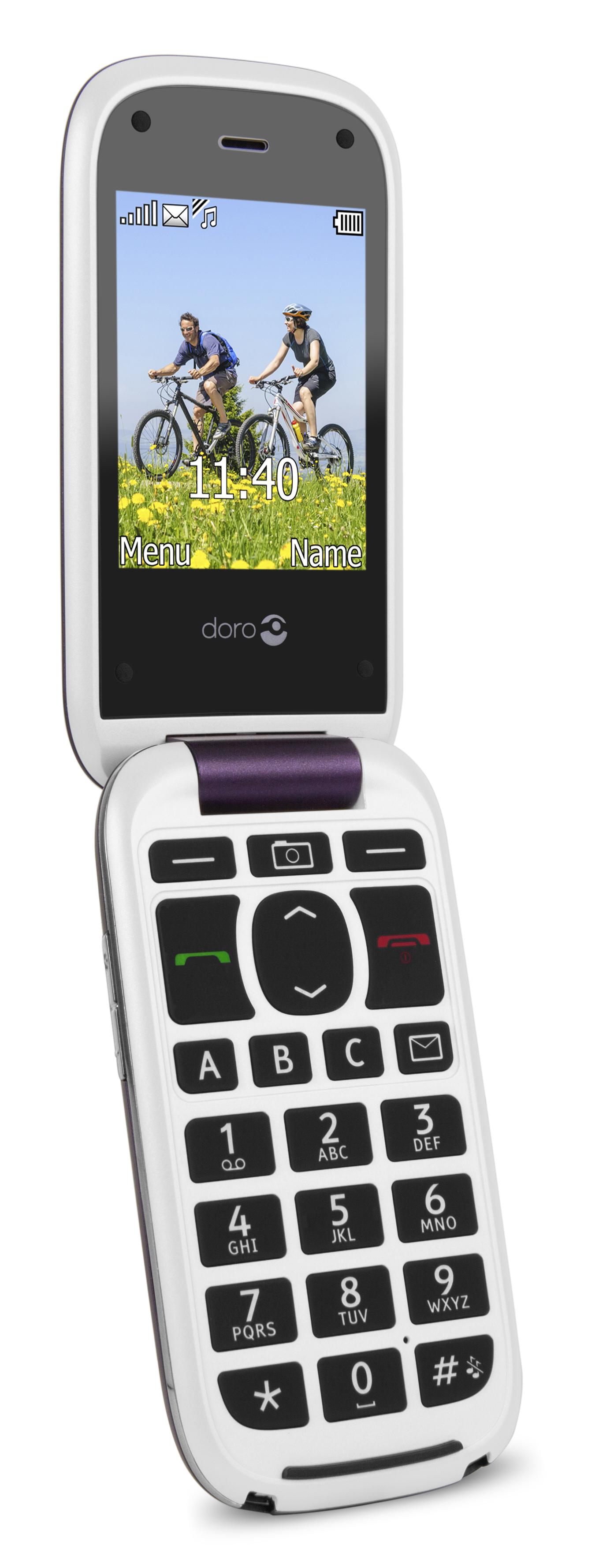 Destockage doro matra doro 613 aubergine blanc pas cher - Telephone portable doro pas cher ...