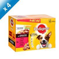 Pedigree - Pochette de plat en sauce pour chien 12 x 100g 4