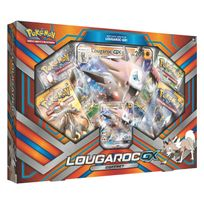 Asmodée - Cartes Pokemon : Coffret Lougaroc-GX