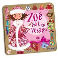 Creation Vd - 290 Jeu de Société Zoe Part en Voyage