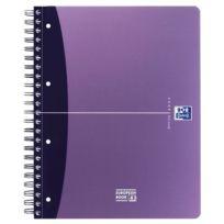 Oxford - Cahier organizer european book polypropylène 240 pages a4 5x5