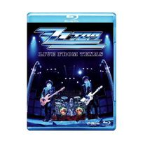 Eagle - Zz Top - Live From Texas Blu-ray, Import anglais