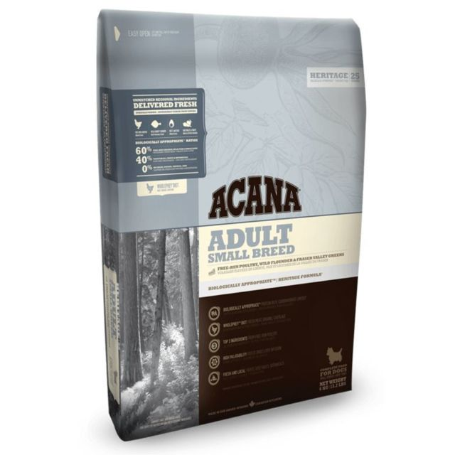 Acana Heritage Chien Adulte Small Breed