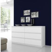 Finlandek - Chambre - Finlandek Commode Natti 154cm blanc
