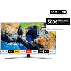 samsung tv led 55 139cm ue55mu6405 pas cher achat vente tv led de 50 39 39 et plus 4k. Black Bedroom Furniture Sets. Home Design Ideas