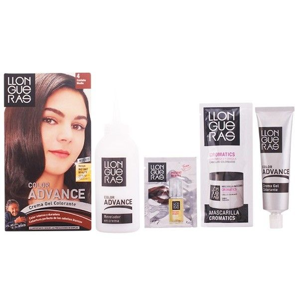 No Name Llongueras - Llongueras Color Advance hair colour 4-medium brown
