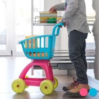 Marque Generique - Chariot et accessoires jouer enfant 10 pièces, Couleur - Rose