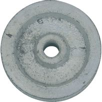 Jardinier Massard - Poulie fonte gorge ronde Fonte seule Diam.40mm