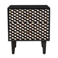 Table chevet zen - catalogue 2019 - [RueDuCommerce - Carrefour]