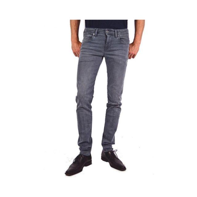 776aaa3a540 Pepe Jeans - Hatch Homme Jean Slim Gris Gris W34-L34 - pas cher ...