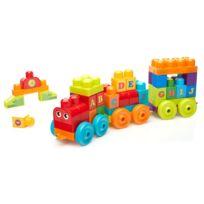 MEGABLOKS - Brique de Construction - Le Train de l'Alphabet - FWK22