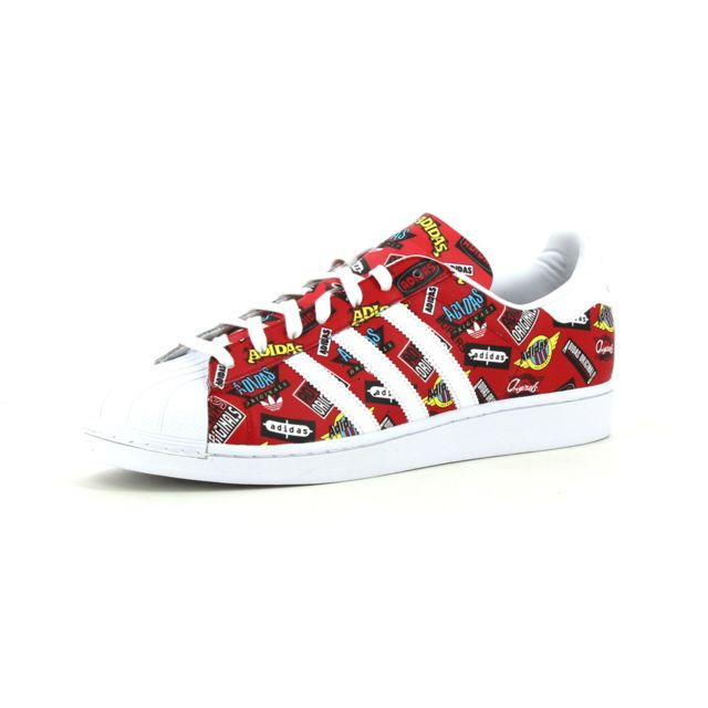 Aop Adidas Superstar Pas Baskets Basses Originals Cher Nigo