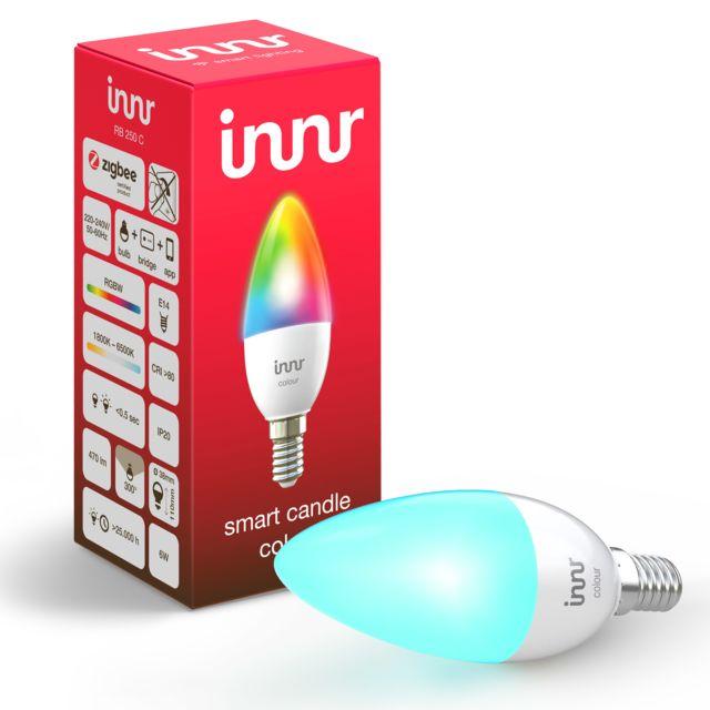 INNR - Ampoule connectée E14 - ZigBee 3.0 - RGB
