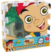 Jumbo - Disney Jake Et Le Never Land Pirates - GÉANT Plancher En Mousse Puzzle 9 PiÈCES