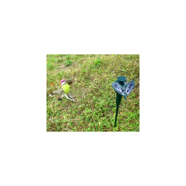 Coolminiprix Colibri solaire 40cm jaune - Qualité