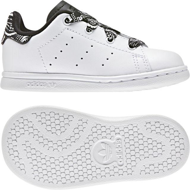 quite nice latest discount outlet store Adidas - Chaussures bébé Stan Smith - pas cher Achat / Vente ...