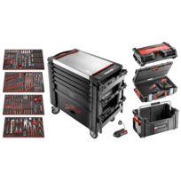 Facom - Servante jet.m4, 6 tiroirs, édition limitée + composition 4 tiroirs et équipement toughsystem jet.blkmax17im
