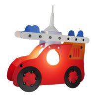 Niermann Standby - 181 LumiÈRE Pendante Camion De Pompiers Pour Enfants Rouge 32 X 6 X 24 Cm