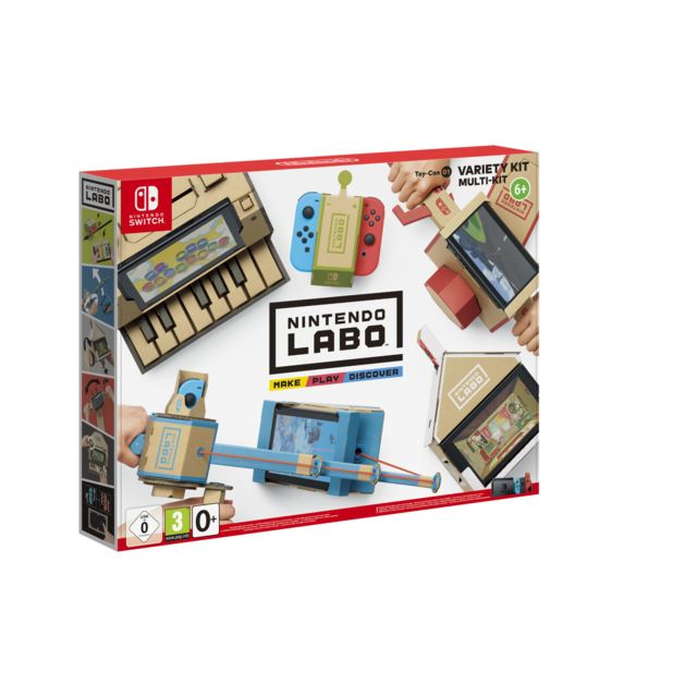 NINTENDO Labo - Multi Kit - Jeu Switch