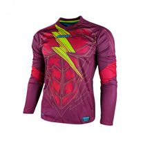 Rinat - Maillot Bolt Rouge-Vert Taille S