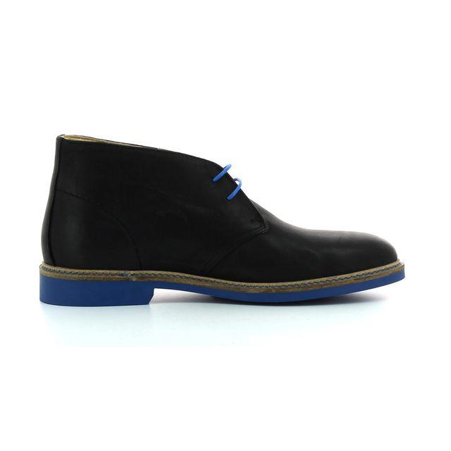 Aigle Boots en cuir Dixon Mid 2 Noir 46 pas cher Achat