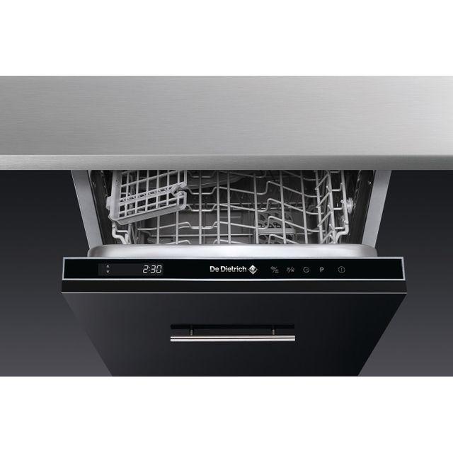 DE DIETRICH lave-vaisselle 45cm 10 couverts a++ intégrable - dvh1044j