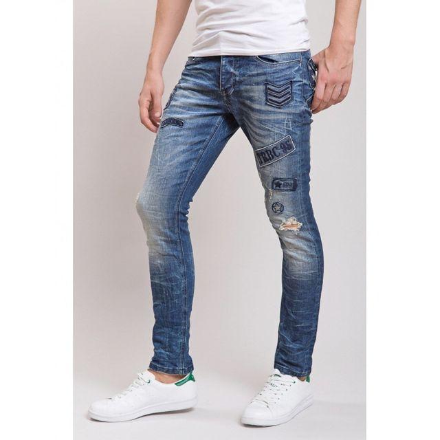 Beststyle - Jeans homme usé clair bleu W33 L32 - pas cher Achat ... 70aa4fd9ca02